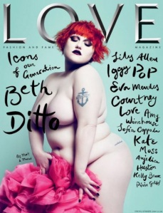 Beth Ditto su Love