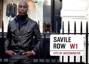 Il sarto Oswald Boateng sarà stato scelto per il talento o per il politically correct?